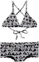 Billabong Geo Delight Two-Piece Triangle Swimsuit (Little Girls & Big Girls)