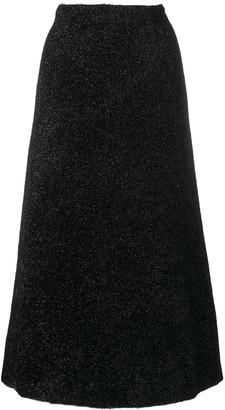 Sonia Rykiel Shimmer Midi Skirt