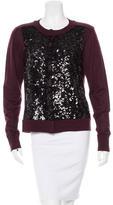 Diane von Furstenberg Wool Embellished Cardgian