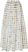 Rosie Assoulin Pleated Skirt