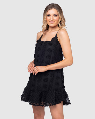 Pilgrim Women's Black Mini Dresses - Ganesa Mini Dress - Size One Size, 6 at The Iconic