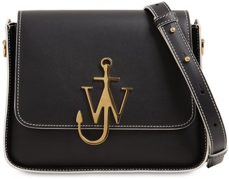 J.W.Anderson ANCHOR LOGO LEATHER SHOULDER BAG