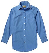 Class Club Gold Label Big Boys 8-20 Solid Dress Shirt
