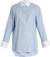 Palmer Harding PALMER/HARDING Striped cotton shirt