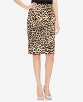 Vince Camuto Animal-Print Pencil Skirt