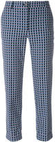 Paul Smith cropped printed trousers