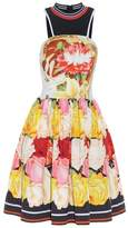 Mary Katrantzou Densis Rosa Alba-print mini dress