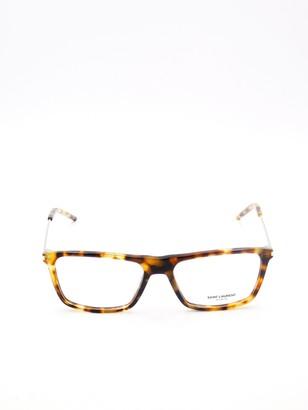 Saint Laurent Eyewear Rectangular Frame Glasses