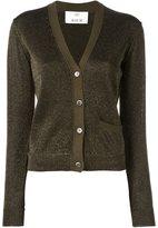 Allude v-neck cardigan - women - Nylon/Polyester - L