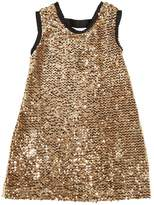 Sequined Velvet Party Dress