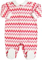 Missoni Zigzag Printed Cotton Jersey Romper