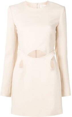 Dion Lee Cut-Detail Mini Dress