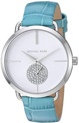 Michael Kors Women's Analogue Quartz Watch with Leather Strap MK2720