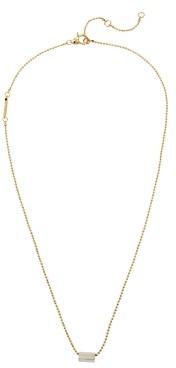 AllSaints Logo Bar & Pendant Necklace, 20