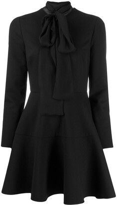 Valentino scalloped short dress