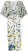 Tory Burch degrade flora-print dress