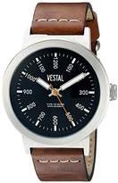 Vestal Unisex SLR3L004 The Retrofocus Analog Display Quartz Brown Watch
