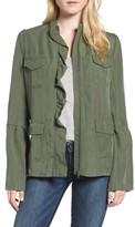 Hinge Women's Ruffle Utility Jacket