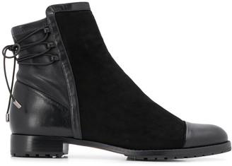 Alexandre Birman Asymmetric Top Ankle Boots
