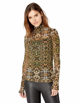 BCBGMAXAZRIA Women's Turtleneck Top