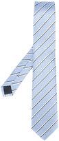 HUGO BOSS diagonal stripe tie