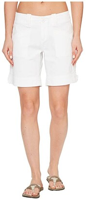 Aventura Clothing Tara Shorts (White) Women's Shorts