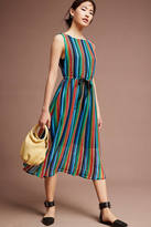 Eva Franco Rainbow Crochet Midi Dress