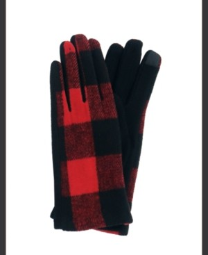 MARCUS ADLER Plaid Jersey Touch Glove