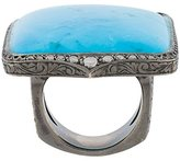 Loree Rodkin turquoise & diamond ring