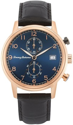 Tommy Bahama Men's Riviera Blue Dial Chronograph Watch