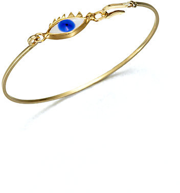 Delfina Delettrez Eye Bangle Bracelet