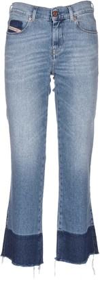 Diesel Skinny Fit Flared Jeans