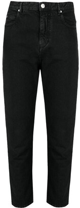 Etoile Isabel Marant Cropped Tapered Jeans
