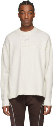 A-Cold-Wall* A Cold Wall* Off-White Panelled Seam Sweater