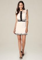 Bebe Anna Cap Sleeve Dress