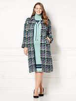 New York & Co. Eva Mendes Collection - Jenia Tweed Coat - Plus