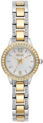 Relic By Fossil Women's Tenley Two Tone Watch - ZR34570