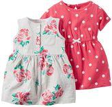 Carter's Baby Girl Dress Set