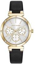 Pierre Cardin Women's 35mm Leather Band Steel Case Quartz Watch Pc107882f02