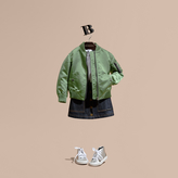 Burberry Technical Bomber Jacket