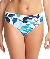 Fantasie Capri Mid-Rise Gathered Bikini Bottom, M