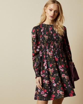 Ted Baker AERRIN Fern Forest mini dress