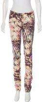 Barbara Bui Abstract Print Skinny Jeans w/ Tags