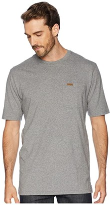 Pendleton Short Sleeve Deschutes Pocket Tee (Navy Blue Heather) Men's T Shirt