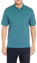 Nordstrom Men's 'Classic' Regular Fit Short Sleeve Oxford Pique Polo