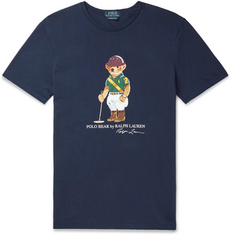 Polo Ralph Lauren Printed Cotton-Jersey T-Shirt