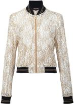 Sophie Theallet Guipure lace bomber jacket