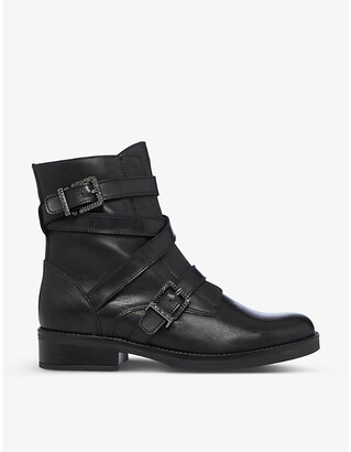 Dune Paradize leather ankle boots
