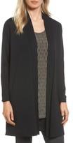 Eileen Fisher Women's Long Wool Cardigan