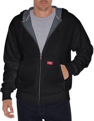 Dickies Men's Thermal Lined Fleece Hoodie